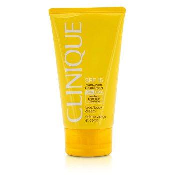 Clinique Face / Body Cream SPF 15 UVA / UVB