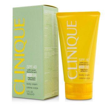 Clinique Body Cream SPF 40 UVA/UVB