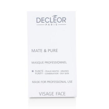 Decleor Mate & Pure Mask Vegetal Powder - Combination to Oily Skin (Salon Size)