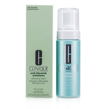Clinique Anti-Blemish Solutions Cleansing Foam (All Skin Types)