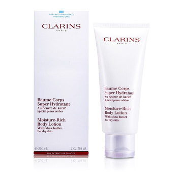 Clarins Moisture Rich Body Lotion with Shea Butter (Dry Skin)